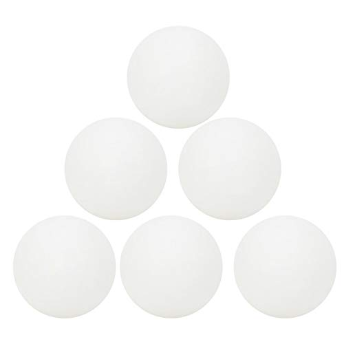 Vbest life 6 unids/Set de Pelotas de Tenis de Mesa de plástico ABS, Tenis de Mesa de Entrenamiento estándar Internacional en Caja de 3 Estrellas para Deportes de Entrenamiento de pingpong