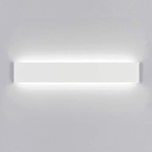 Yafido Aplique Pared Interior LED 60CM Lámpara de pared Moderna 20W Blanco Frío 6000K perfecto para Salon Dormitorio Sala Pasillo Escalera