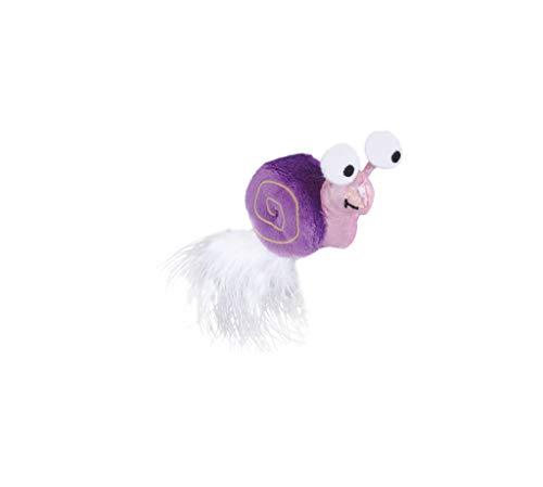 Petstages Glow Snail Jouet Nocturne à Chasser/à Transporter pour Chat