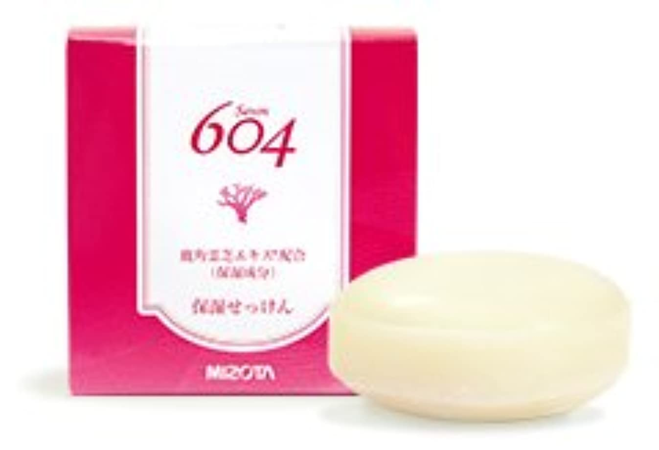 支援する優しい谷保湿ソープ604(洗顔石鹸) 鹿角零芝エキス配合