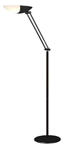 Aluminor Meteor LED N lamp, zwart wastafel Mi polycarbon