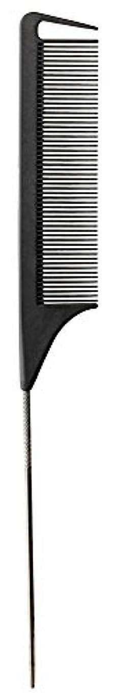 郵便番号銅発送Fromm Carbon Fine Tooth Pin Tail Comb, 9.25 Inch [並行輸入品]