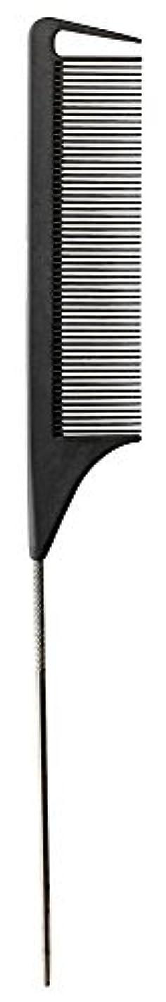 資源テレビ子音Fromm Carbon Fine Tooth Pin Tail Comb, 9.25 Inch [並行輸入品]