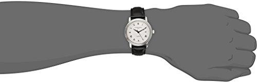 FREDERIQUE CONSTANT Mixte Adulte Date Standard Automatique Montre avec Bracelet en Cuir FC-303MC4P6