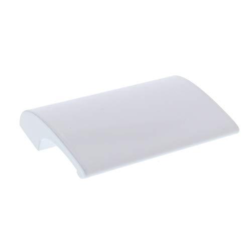 ToniTec® Balkontürgriff ALU Ziehgriff in verschiedenen Farben Modell: Oskar inkl. Schrauben, Farbe: Weiß