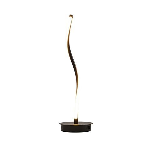 YLSH Duurzame staande lamp staande lamp Moderne eenvoudige vloerlamp smeedijzeren vloerlamp voor slaapkamer woonkamer vloerlicht creatieve plooien gebogen vloerlamp staande lamp