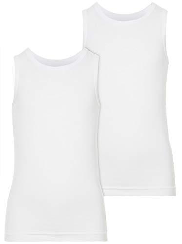 NAME IT NAME IT 2er-Pack Unterhemden in weiß 86