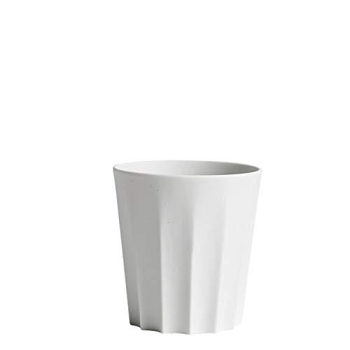 HAY Iris Tasse kantig, cremeweiß