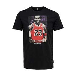 Only & Sons ONSJORDAN Life REG SS tee Camiseta, Negro, XL para...