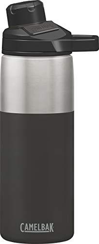 Camelbak CB1515001060 Bouteille Thermos Chute 0, 6L Acier Inoxydable, Noir,, 7.5 x 25 cm