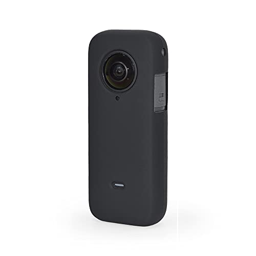 Taisioner Silicon Protective Housing Case with Lens Cover for Insta360 ONE X2 Sleeve Frame Accessories