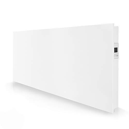 eVARMOairstreamsmartElektroheizung zur Wandmontage/Konvektor Heizung/energiesparend und ultraflach/Elektrische Heizung mit 2000 Watt/Wandheizung elektrisch