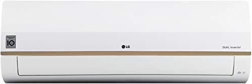 LG 1.5 Ton 5 Star Inverter Split AC (Copper, 2020 Model, LS-Q18GWZA, White & Gold Deco Strip)