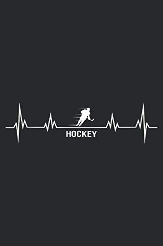 hockey: 6x9 Zoll (ca. DIN A5) 110 Seiten Liniert I Notizbuch I Tagebuch I Notizen I Planer I Geschenk Idee für Eishockey Fans I Hockey I Goalie I Ice I