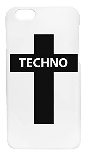 Techno Musica Custodia Cassa Del Telefono Per iPhone 6, iPhone 6s Corazza Dura Phone Case