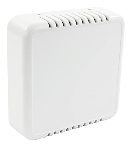 CBRS01VWH - Contenitore in plastica per armadio, 19', con sensore di stanza, ventilato, bianco, 1 x quantità