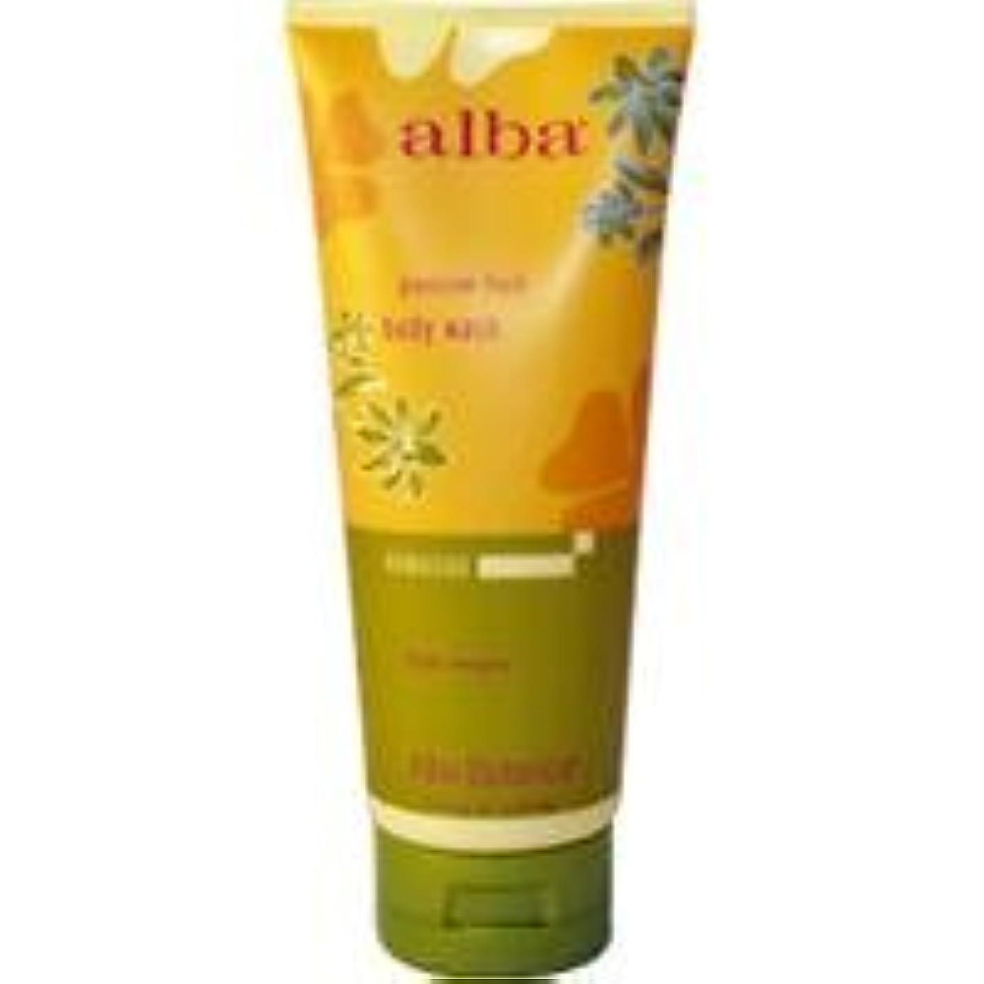 サイレン工場効果的にAlba - Passion Fruit Body Wash - 7 fl oz (200 ml)~ハワイから直送~