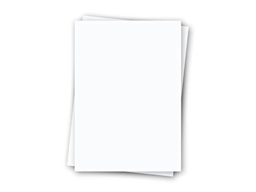 Regulus SC44-A3 Signolit Polyesterfolie selbstklebend, matt A3, 40 Stück, opak-weiß
