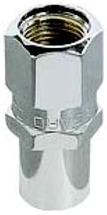 McGard 61000 Chrome Regular .746 Shank Style Lug Nuts Set of 4 1//2-20 Thread Size