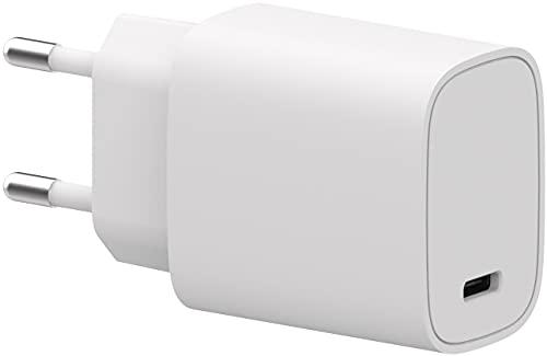 HN-Power Fuente de alimentación USB tipo C (20 W, sin cable), color blanco