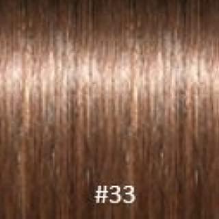 Virgin U-Tip Brazilian Jackson Curly Hair,#33 Dark Auburn,30 Inch