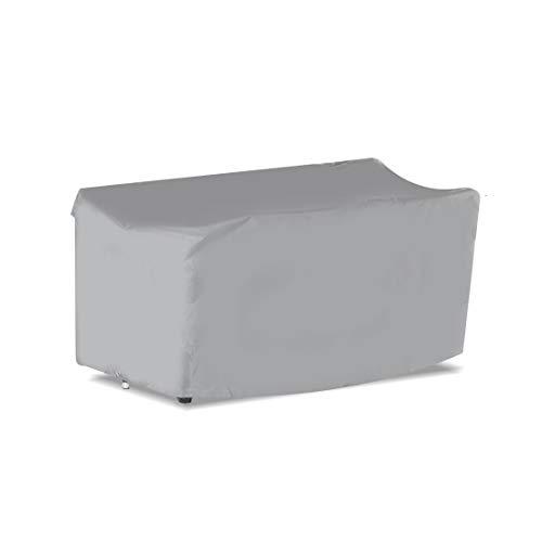 Ultranatura Gewebeschutzhülle für Gartenmöbel, aus der Sylt - Serie, äusserst robuste Abdeckung aus wasserdichtem Polyestergewebe 600D, Maße: ca. 230 x 165 x 80 cm, Farbe: silber-grau