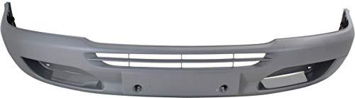 Front Bumper Cover Compatible with 2003-2006 Dodge Sprinter 2500/Sprinter 3500 2005 Textured Dark Gray Passenger Van