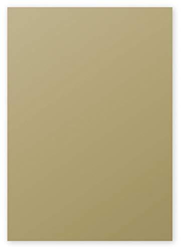 Clairefontaine 4200C Packung mit 50 Blatt Pollen, DIN A4, 210 x 297 mm, 120g, gold