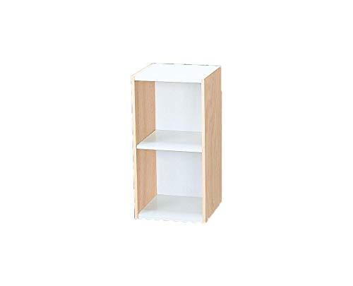 Marca Amazon - Movian Librería modular con 2 estantes en MDF, Beige, 30 x 29 x 60 cm