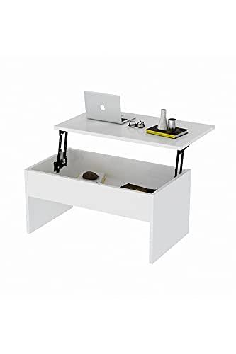 SHUJINGNCE Table Basse de Luxe élégante Table Extensible Console Brillante Table de la Table ALD Meubles de Bureau canapé Cuisine Salle de séjour Nourriture Boisson (Color : Size 2)