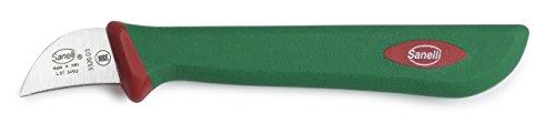 Sanelli Premana Professional Coltello Castagna, Silicone, Verde/Rosso, 14.0x1.5x2.5 cm