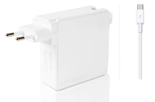 Reichner 65W 61W 30W 29W Cargador PC Portátil - USB-C - Adaptador para Apple MacBook Pro 13 de 2016 / MacBook Air 13 de 2018 / MacBook 12 de 2015 Mac - A2159 A1989 A1932 A1882 A1718 A1708 A1706 A1534
