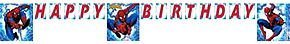 Spiderman Letter Banner 8ft by Factory Card and Party Outlet