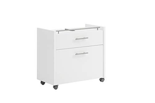 Schildmeyer Trient Waschbeckenunterschrank 147475, weiß matt, 67 x 35 x 62 cm