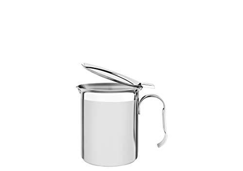 Tramontina 61570-080 - Cafetera con tapa (acero inoxidable, 550 ml, 8 cm de diámetro, apta para lavavajillas)