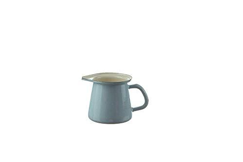 Münder Émail - Cruche, Cruche, Pot à Lait, Pot A Lait - Couleur: Bleu Clair - 0,7 Litre - Émail