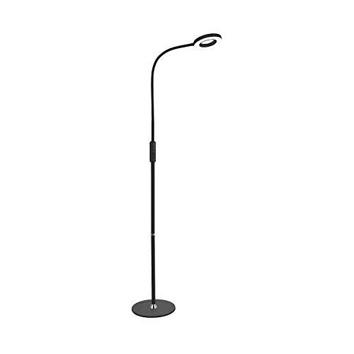YANQING Duurzame Vloer Lamp disc Base LED Afstandsbediening Dimbaar Afneembare Metalen Slaap Timing Off Lamp Woonkamer Slaapkamer Slaapkamer Nachtkastje NeLED A++ (Kleur : H), Kleur:H