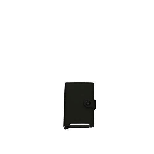 Secrid - Cartera Secrid Miniwallet Matte Mujer color: Verde talla: Talla única