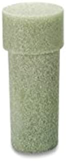 FloraCraft Styrofoam Memorial Vase Insert 3.25 Inch x 3.25 Inch x 8 Inch Green