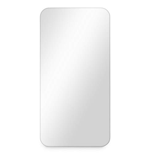 PHOTOLINI Spiegel ohne Rahmen 40x80 cm | Deko Wand-Spiegel Lang Schmal