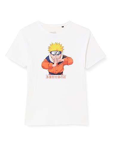cotton division BONARUTTS004 T-Shirt, Blanc, 10 Ans Garçon