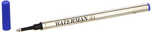 Waterman 723361 - Ricambio d'inchiostro per penna Roller, blu