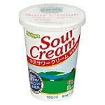 中沢乳業 サワークリーム (180ml) x10個セット