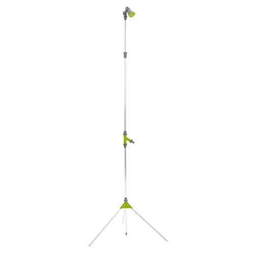 Xclou Gartendusche mit Stativ, höhenverstellbare Außendusche, Höhe 150-220 cm