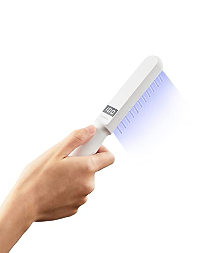 Honpal 311nm Narrowband Phototherapy Light Lamp,led UVB Phototherapy Light with Digital Timer Control and Goggle, Home Use and Portable.