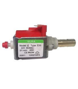 Bomba de vibración ULKA EX5 24 V 50/60 Hz salida latón chiskoit OEO18