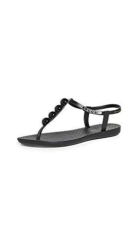 Ipanema Pearl Women's Sandals, Black/Black (10 US)