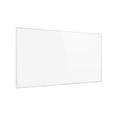 Klarstein Wonderwall Smart - Infrarot-Heizung - Wandheizung, Heizgerät, WiFi, Thermostat, Wochentimer, Abschaltfunktion, Allergiker-geeignet, antikweiß, 50x90cm, 450W