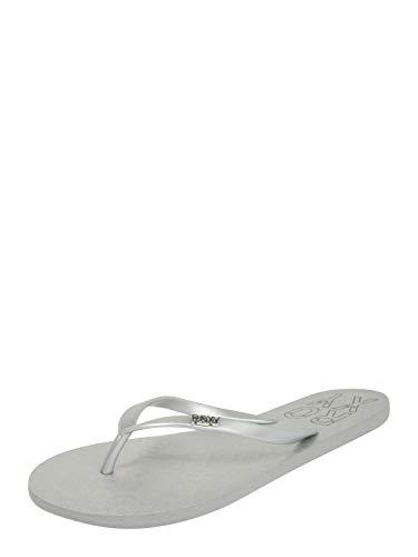 Roxy Viva Stamp, Zapatos de Playa y Piscina para Mujer, Plateado (Silver SIL), 38 EU