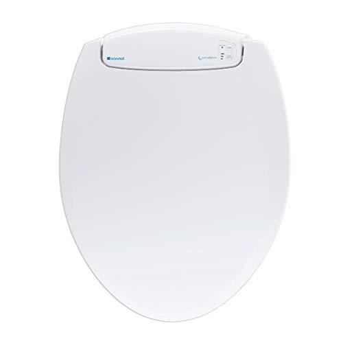 Brondell L60-RW LumaWarm Heated Nightlight Round Toilet Seat